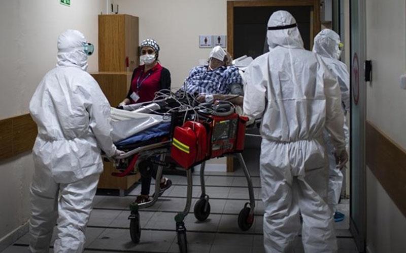 Coronavirüs salgınında haftalık hasta sayısı 1.500'e dayandı