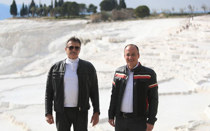 Tüzmen ve Örki'den Pamukkale turu