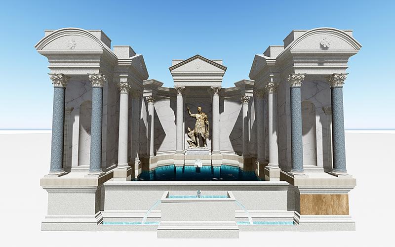 Laodikya'daki Trian Çeşmesi yeniden ayağa kalkacak