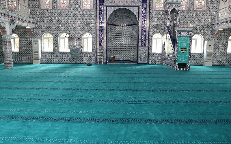 Merkezefendi'den camilerde temizlik ve yenileme çalışması