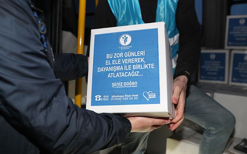 Merkezefendi Belediyesinin kampanyasında iki günde 2 bin kişiye iftar yemeği