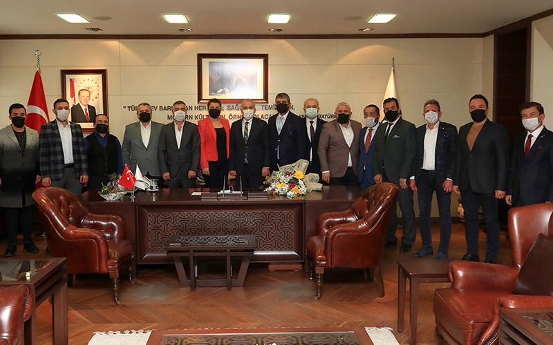 MHP il yönetiminden Zolan'a ziyaret