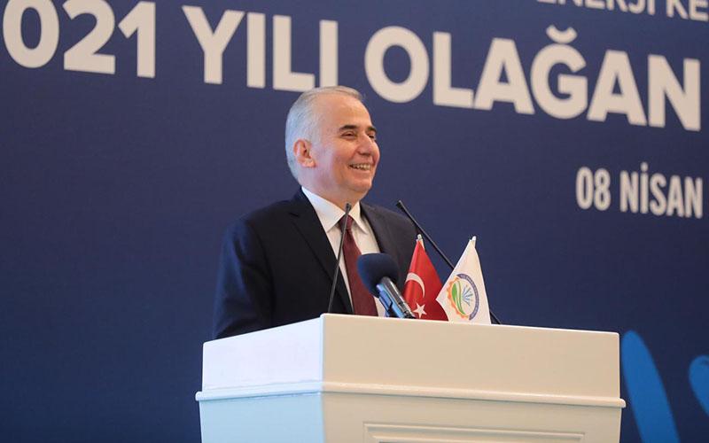 Zolan, Enerji Kentleri Birliği Başkanlığına yeniden seçildi