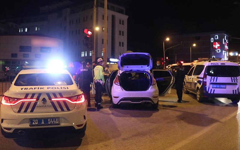 Polisin 'dur' ihtarına uymayıp kaçan 2 kişi yakalandı