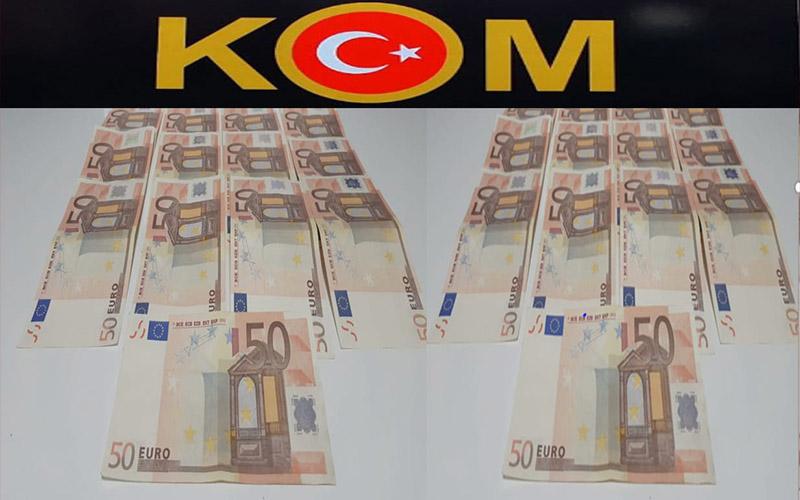 Piyasaya sahte Euro sürmek isteyen 4 kişi yakalandı