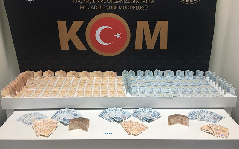 Sahte para operasyonunda 2 kişi tutuklandı