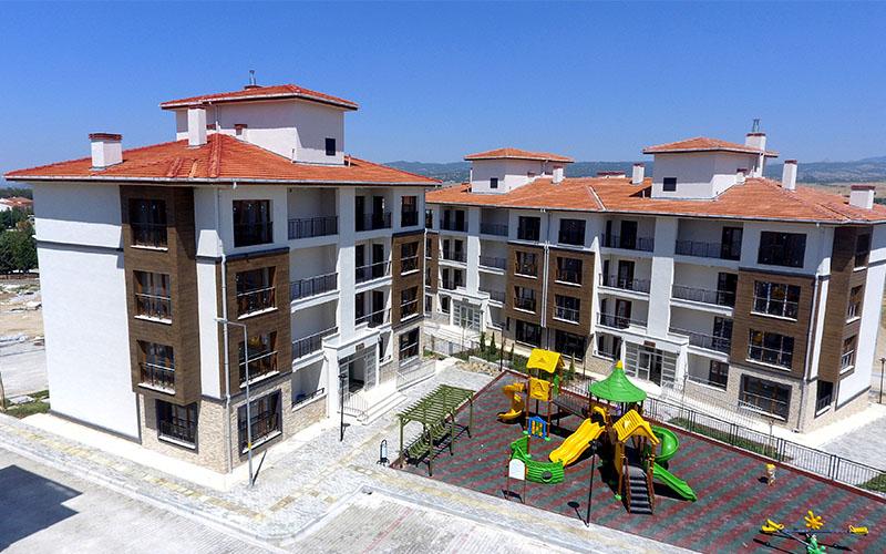 TOKİ, Denizli'de 13.544 konut yaptı