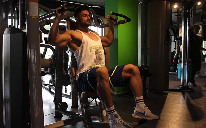 Vücut geliştirme sporcusunun hedefi Avrupa şampiyonluğu