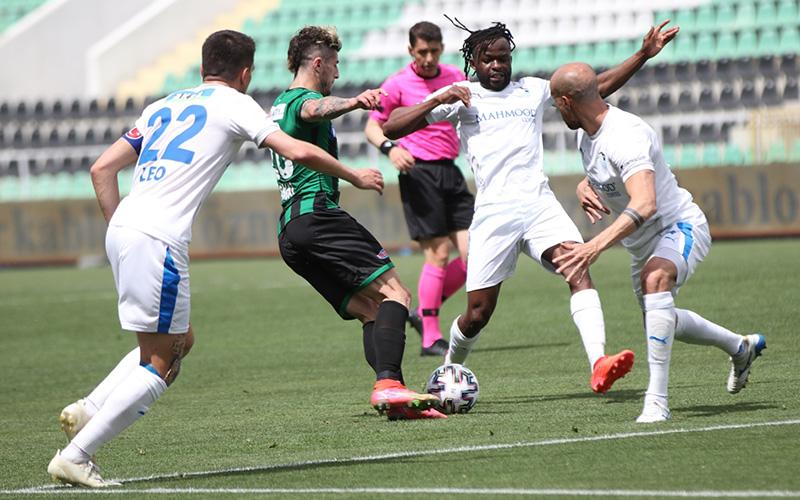 Denizlispor, evinde Erzurumspor'a 3-2 kaybetti