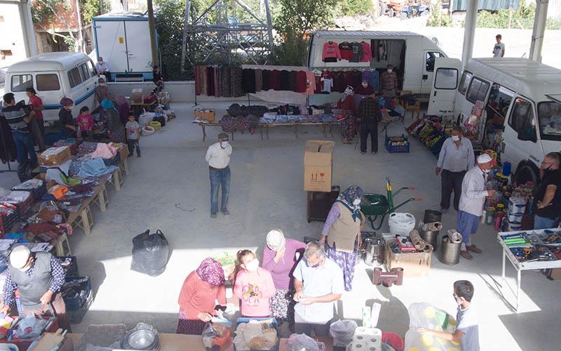 Pamukkale'de semt pazarları cumartesi günleri kurulacak