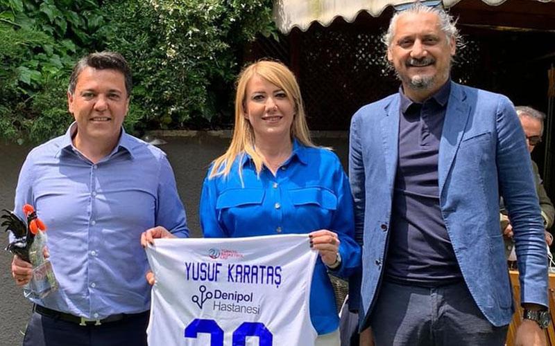 Yukatel, Merkezefendi Belediyesi Denizli Basket'e sponsor oldu