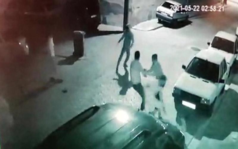 Cinayetin güvenlik kamerası görüntüleri ortaya çıktı