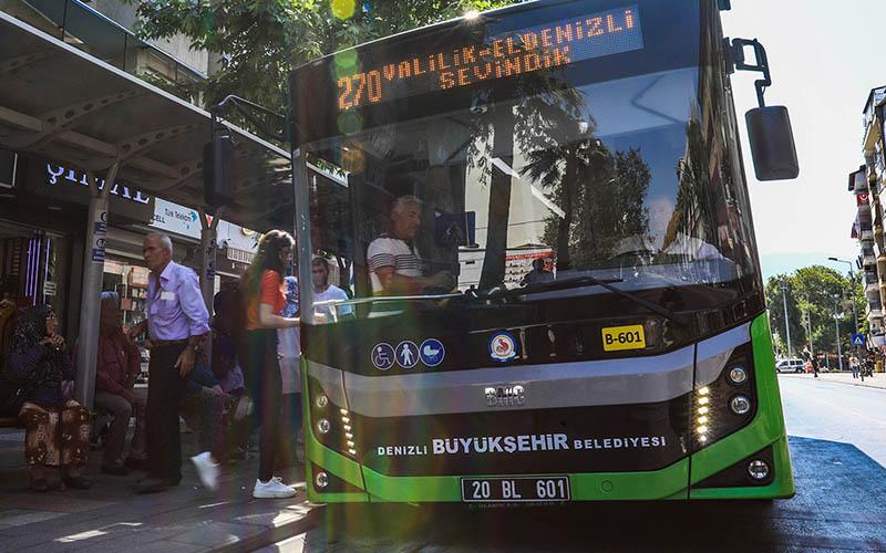 Denizli'de otobüs seferlerine 8 günlük ara