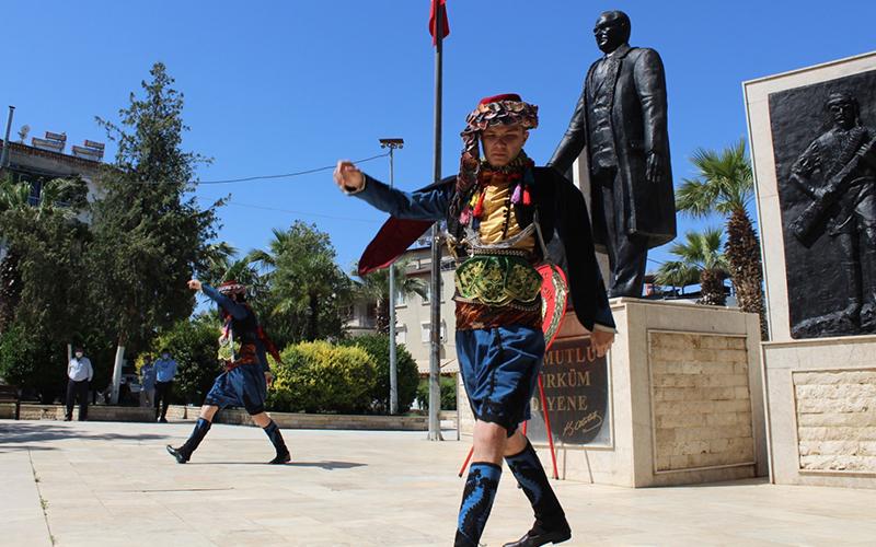 Sarayköy'ün Milli Mücadele'ye katılışının 102. yılı kutlandı