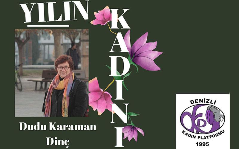 """Otizmle mücadele eden anne Denizli'de """"Yılın Kadını"""" seçildi"""