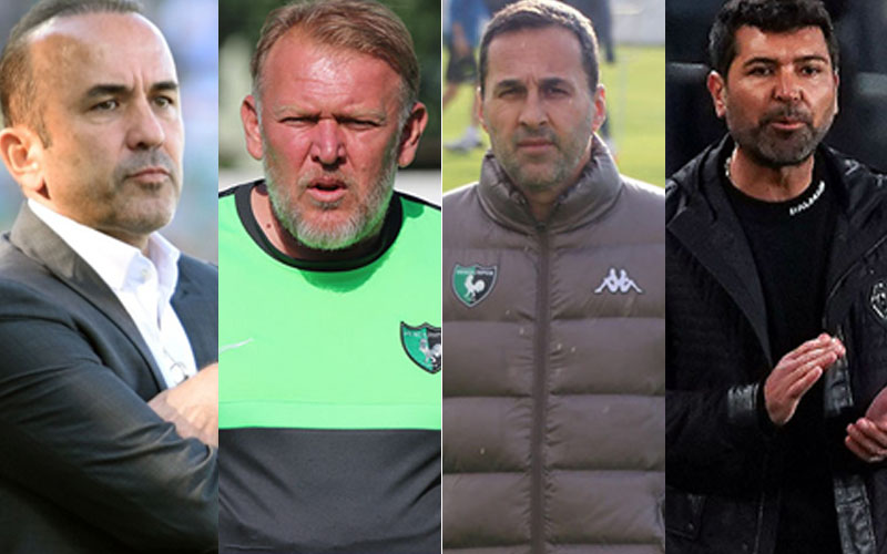 Denizlispor, 2 sezonda 9 teknik adam çalıştı, hiçbiri ilaç olamadı