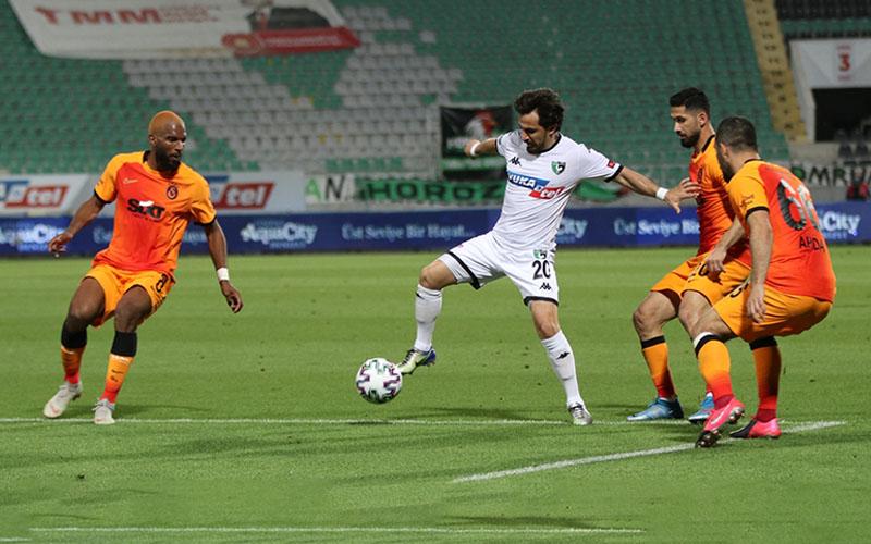 Denizlispor, Galatasaray'a farklı kaybetti: 1-4