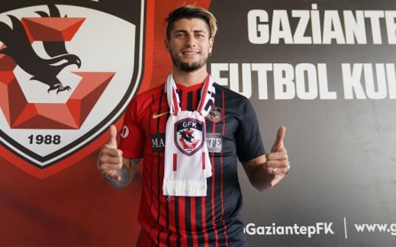 Denizlispor'dan ayrılan Angelo Sagal, Gaziantep FK'de