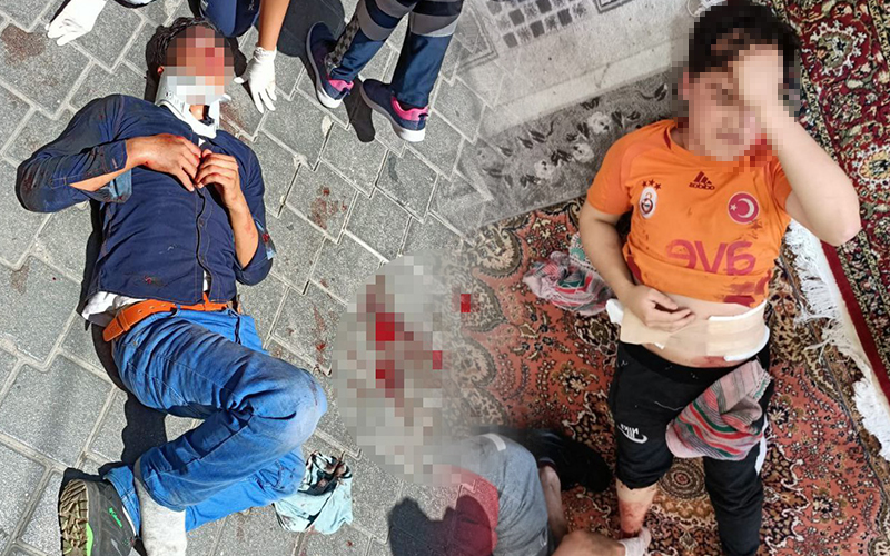Arkadaşını bıçakladı, çatıdan kaçmak isterken yere düşerek ağır yaralandı