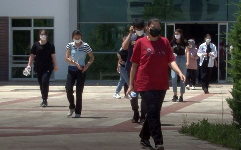 Alan Yeterlilik Testleri sona erdi, öğrencilerin sınav yorumu farklı oldu
