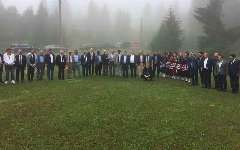 Şevik, Mahalli İdareler İşverenleri Sendikası'nın toplantısına katıldı