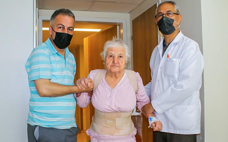 9 kez ameliyat oldu, çareyi Egekent Hastanesinde buldu