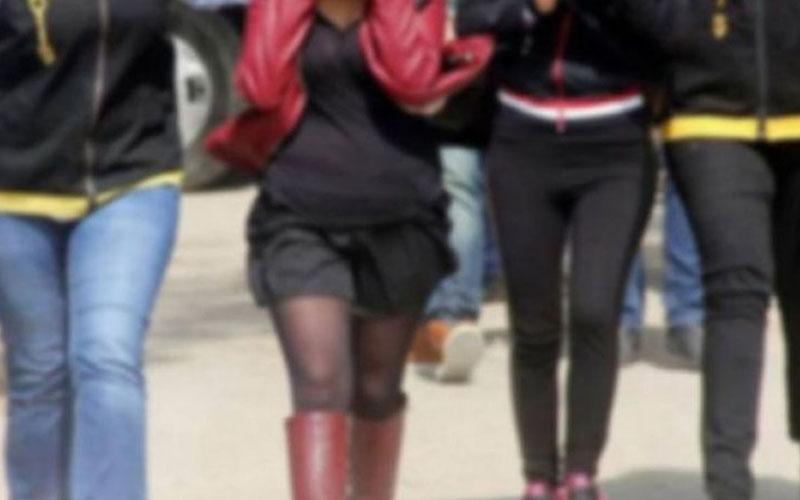 Fuhuş operasyonunda 6 escort kadın yakalandı