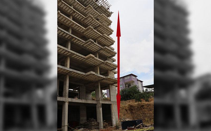 İnşaat işçisi 9. kattan düşerek öldü