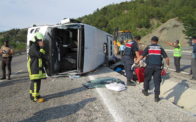 Kaledeki kazada yaralananlardan 20'si taburcu edildi