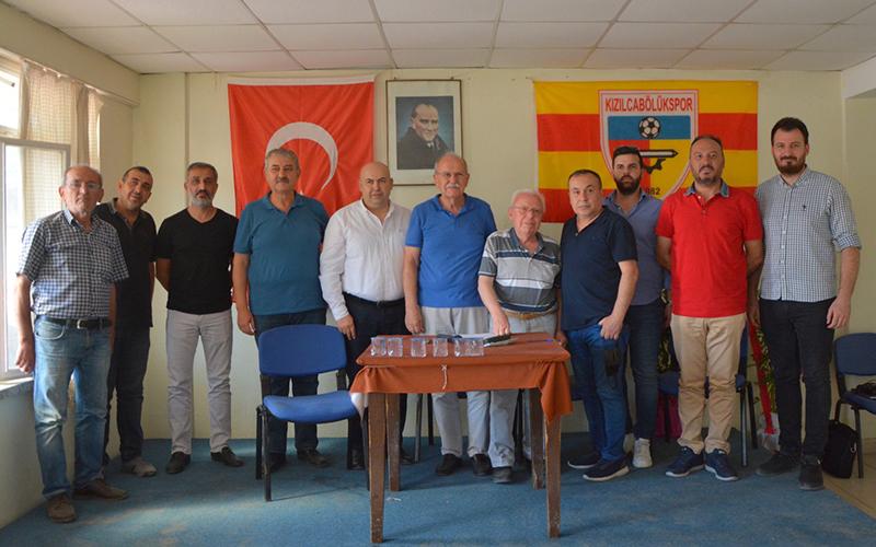 Kızılcabölükspor'a yeni yönetim