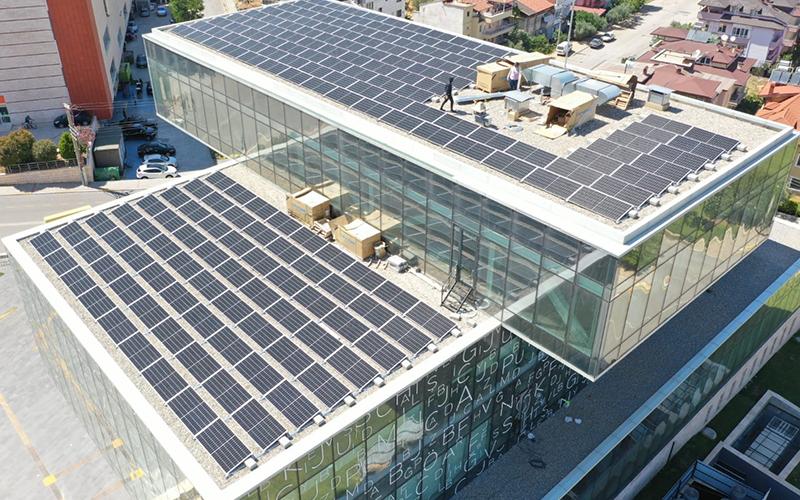 Merkezefendi Belediyesi güneşten yılda 160 bin kWh enerji üretecek