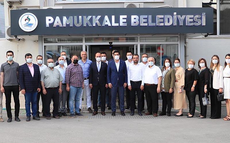 AK Parti il yönetiminden Örki'ye ziyaret