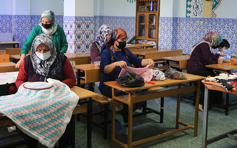 Örki: Kurslarımıza ilgi memnun ediyor
