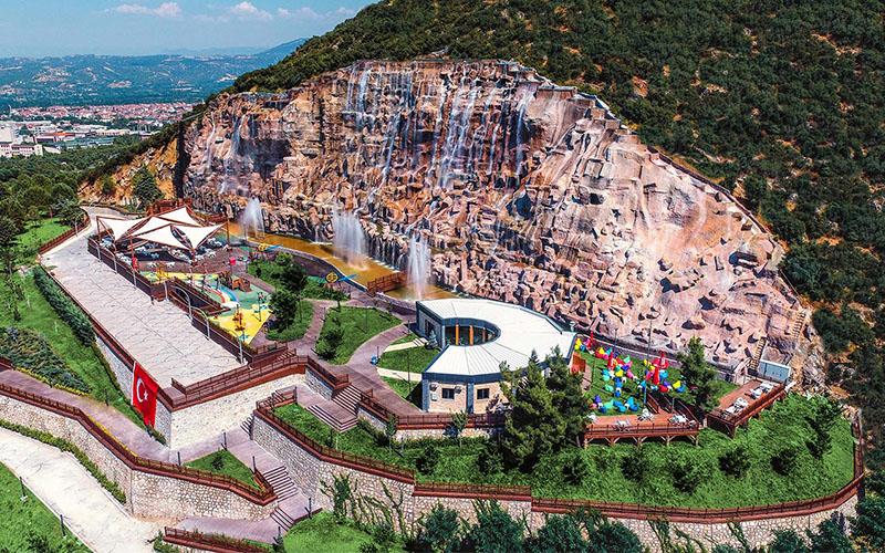 Pamukkale Belediyesi Seyir Tepesi yeniden ziyarete açıldı