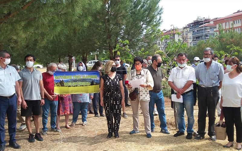 Denizli Soroptimist Kulübünden Adalet'teki ağaç kesimine tepki