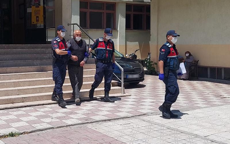 Denizli'den çaldığı tarım aletini Afyonkarahisar'da satan kişi yakalandı