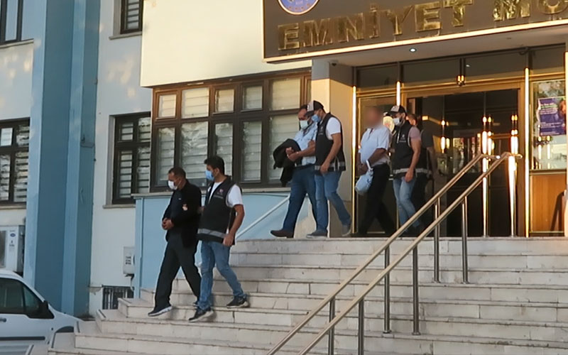 Tefeci operasyonunda 4 kişi gözaltına alındı