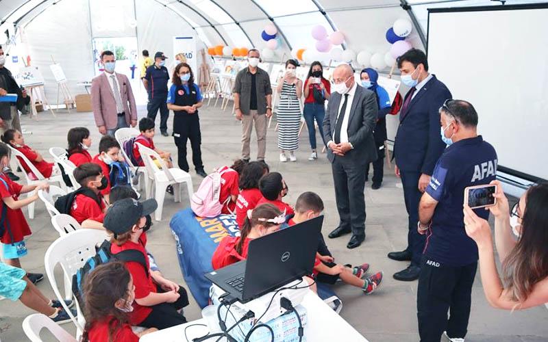 AFAD'dan öğrencilere afet bilinci oluşturma eğitimi