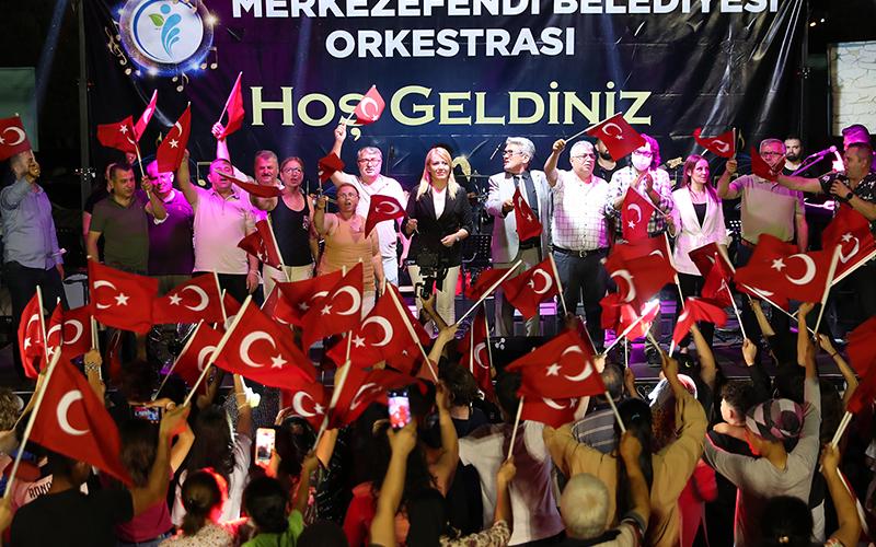 Mehmet Akif Ersoy Mahallesi'nde yaz konseri