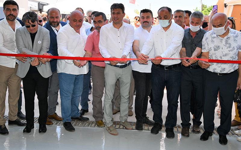 Buldan'da yaş meyve ve sebze kurutma tesisi açıldı