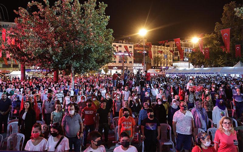 15 Temmuz Demokrasi ve Milli Birlik Günü etkinlikleri düzenlendi