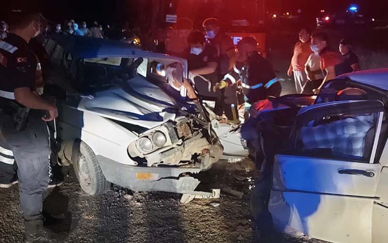 Acıpayam'da meydana gelen kazada yaralı sayısı 9'a yükseldi