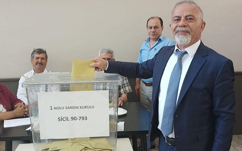 Denizli Barosunun yeni başkanı Adnan Demirdöğer