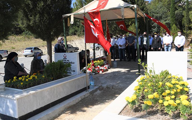 Buldan'da ,15 Temmuz şehitleri anıldı