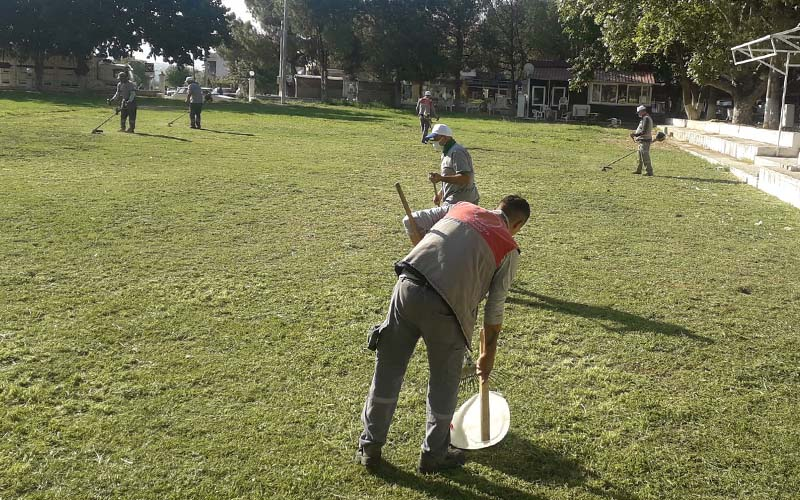Buldan'da 3 gün sürecek festivalin hazırlıkları tamamlandı