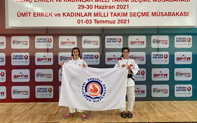 Büyükşehir Belediyesporlu judocular, 2'si altın 3 madalya kazandı
