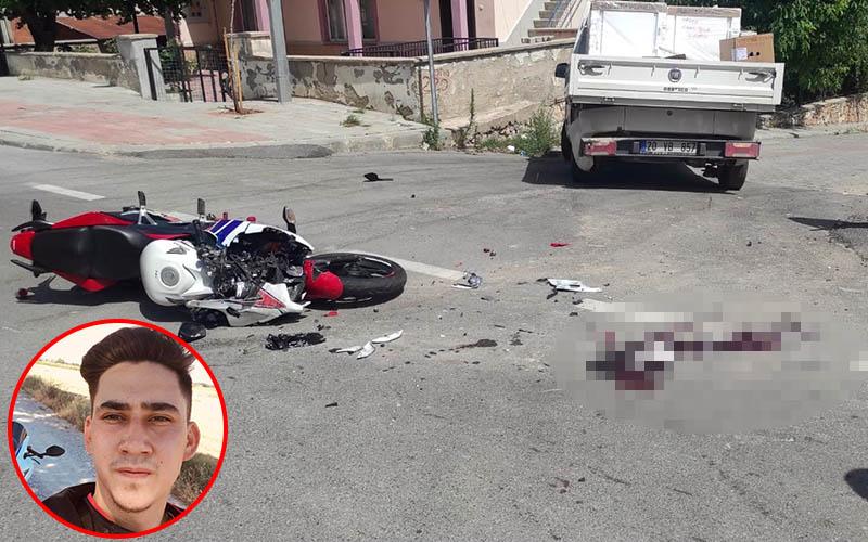 Liseli genç kazada ağır yaralandı