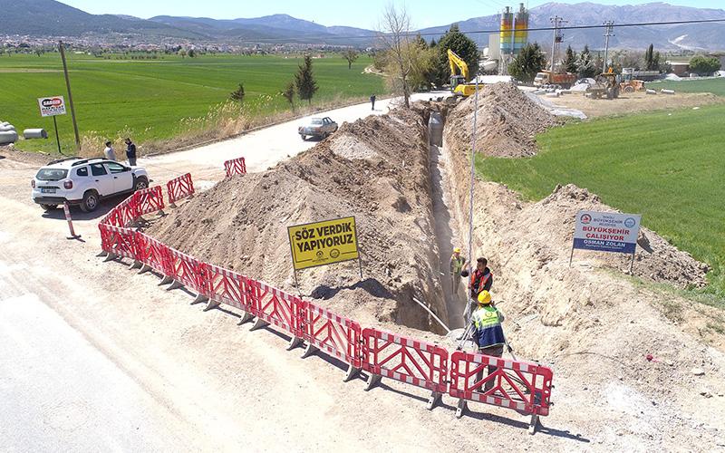 Büyükşehirden 'Arıtma tesisi ve kollektörle Dalaman Çayı daha temiz' açıklaması