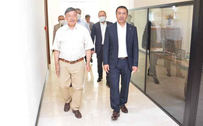Erdoğan, üye ziyaretlerine devam etti