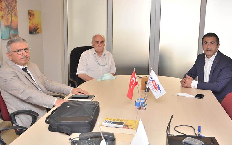 Erdoğan, DTO YİK üyeleriyle sektörleri değerlendirdi